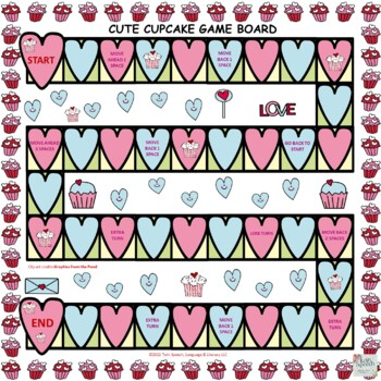 Cute Cupcake Category Naming Valentine's Day-Themed FREEBIE!
