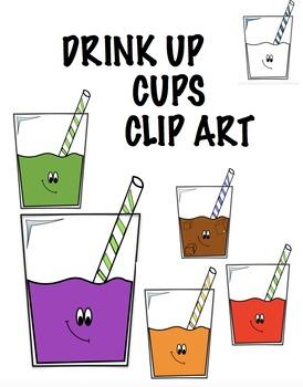 Cute Cups Clip art