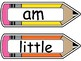 Cute Decorated Sight Words Flashcards