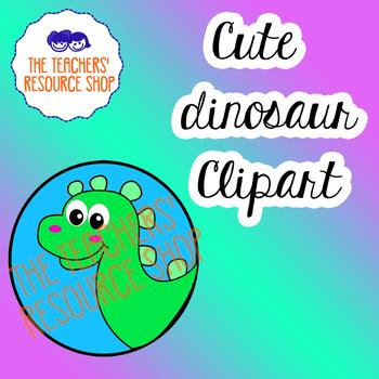 Cute Dinosaur Clipart