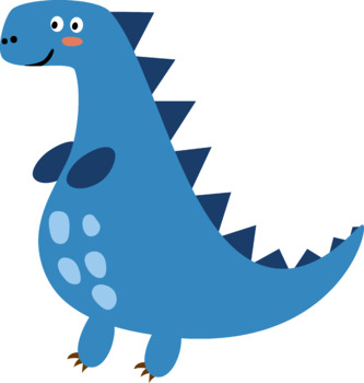Cute Dinosaur Vector Clipart