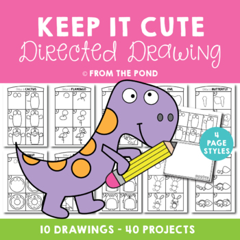 Cute Directed Drawings {Fun Drawing and Art Projects}