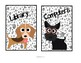 Cute Dog Themed Center Signs