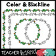 Cute Doodle Borders - 44 Graphics - Perfect for Spring & Summer
