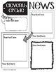 ALL GRADES Cute Doodle Newsletter Templates