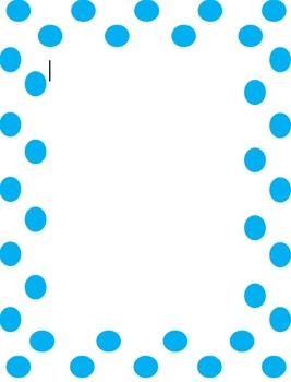 Cute Dot Border