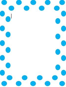 Cute Dot Border