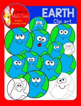 Cute Earth Cliparts