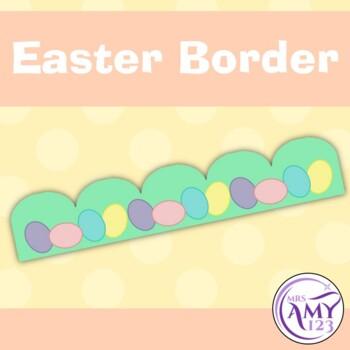 Cute Easter Bulletin Border