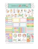 Cute Easter Stickers Planner Printable - Easter Bunny Printable Stickers