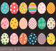 Cute Easter eggs clipart, Colorful Easter egg clip art, Easter egg hunt clipart