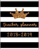 *SALE* Cute & Easy Print & Go 2017-2018 Teacher Planner