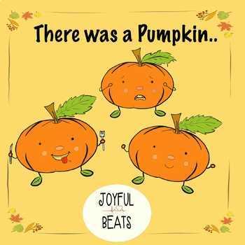 Pumpkin Emotions Clipart + song sheet