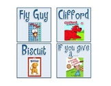 Cute FREE Classroom Library Labels