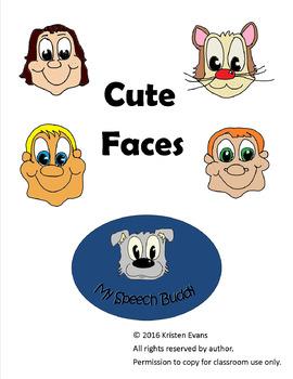 Cute Faces Clip Art