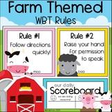 Cute Farm Friends WBT Rules (with Diamond Rule and Scoreboard)