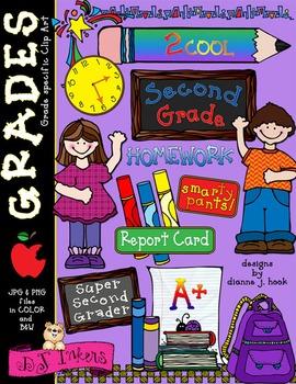 Cute Second Grade Clip Art Download