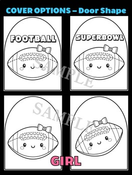 Cute Football - Moonju Makers, Activity, Writing, Superbowl, Sports