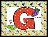 Cute Forest Animals - Posters / Cards / Mats - Alphabet & Numbers