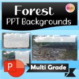Forest PPT backgrounds
