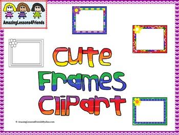Cute Frames Clipart