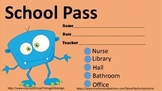 Cute Free Hall Passes