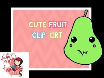 Cute Fruit Clip Art