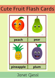 Cute Fruit Flash Cards