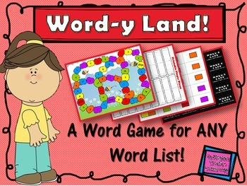 FREE Word Wall Game Vocabulary Spelling
