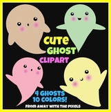 Cute Ghost Clip Art Images - Clip Art for Halloween from A