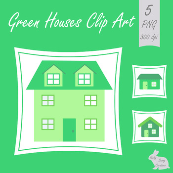 House Home Clip Art Neighborhood Town Green Clipart Images