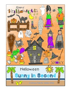 Halloween Clip Art for Personal and Commercial Use