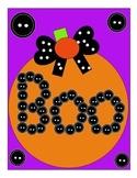 Cute Halloween Graphic Pumpkin Sign/Room/Decor/Craft