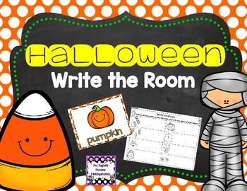 Cute Halloween Write the Room