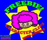 FREE clip art of students for worksheets
