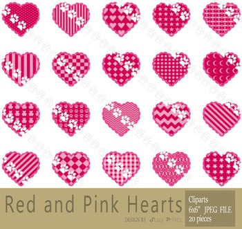 Cute Heart Clip Arts