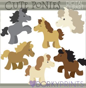 Cute Horse Clip Art