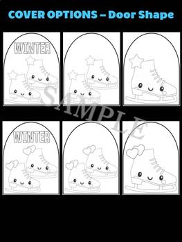 Cute Ice Skates - Moonju Makers Activity, Craft, Decor, Craft,  Winter Sports