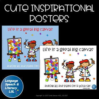 Cute Inspirational Poster, Classroom Decoration