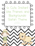 Cute Instant Frames and Backgrounds