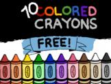 Crayon Clipart | Free