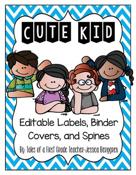 Cute Kid Editable Bundle