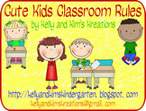 Cute Kids Classroom Rules