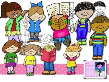 Cute Kids Clip Art-for the Classroom