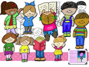 Cute Kids Clip Art-for the Classroom