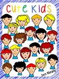 Cute Kids Clipart