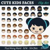 Cute Kids Faces – For Print & Digital