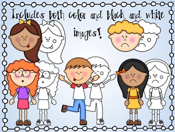 Cute Kids: Feelings and Emotions