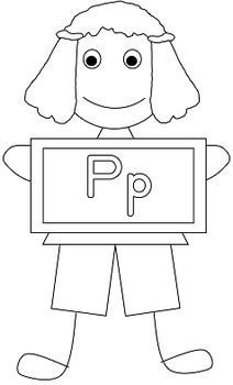 Cute Kids Letters Clipart