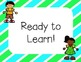 Cute Kids and Stripes: Clip Chart for Classroom Management